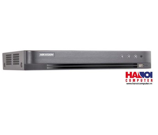 Đầu ghi 16 kênh TVI HikVision DS-7216HUHI-K2 5MP/ H265+ ( hỗ trợ 16 camera tích hợp míc ghi âm)