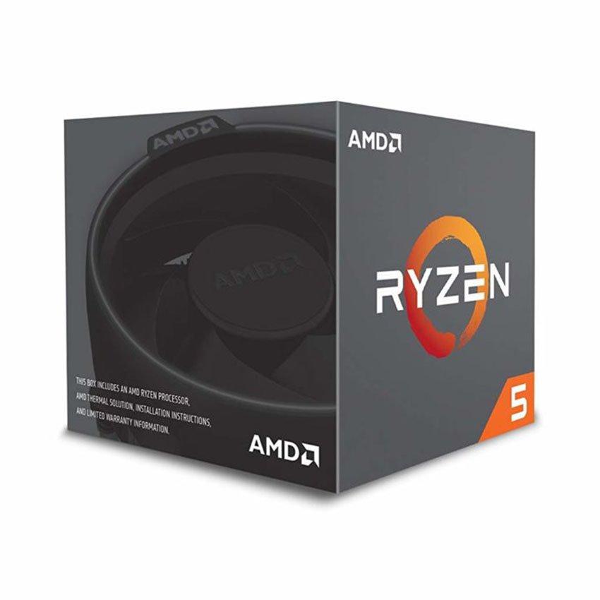 CPU AMD Ryzen 5 2600 (3.4GHz turbo up to 3.9GHz, 6 nhân 12 luồng, 16MB Cache, 65W) - Socket AMD AM4