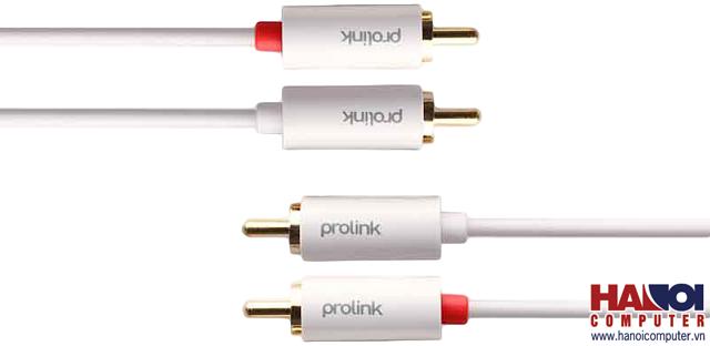 Cáp âm thanh 2m 2*RCA-2*RCA PROLINK MP101 chống nhiễu (HÀNG THANH LÝ - Mới 80%)
