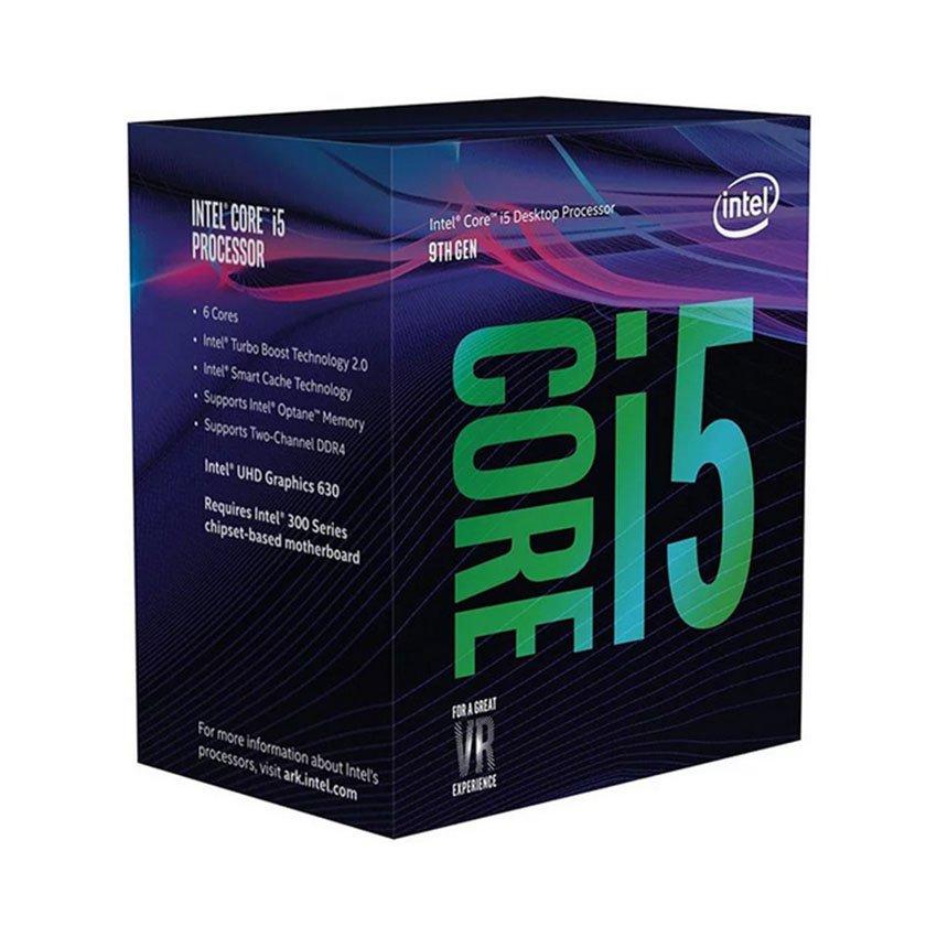 CPU Intel Core i5-9400 (2.9GHz turbo up to 4.1GHz, 6 nhân 6 luồng, 9MB Cache, 65W) - Socket Intel LGA 1151-v2