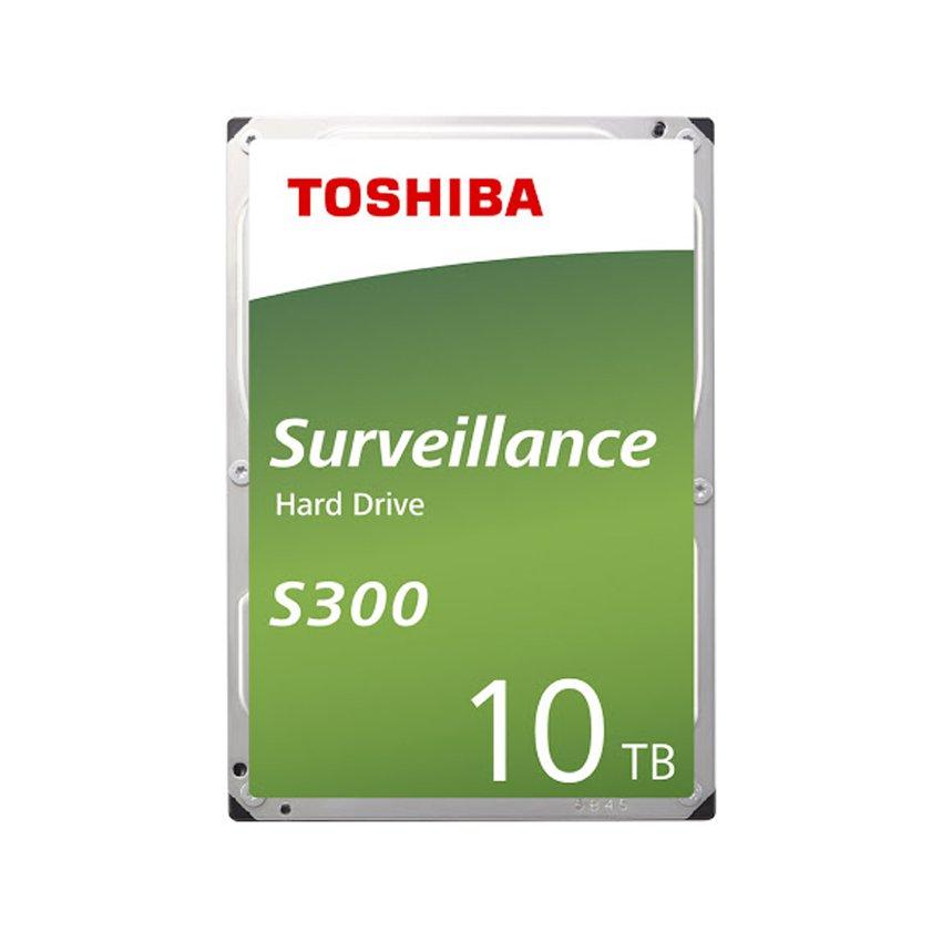 Ổ cứng HDD Toshiba SURVEILLANCE 10TB 7200RPM 3.5 inch Sata 3 -HDWT31AUZSVA