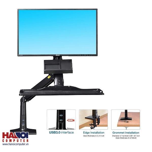 Giá đỡ máy tính gắn bàn đa năng North Bayou FC35 (22-35 INCH)