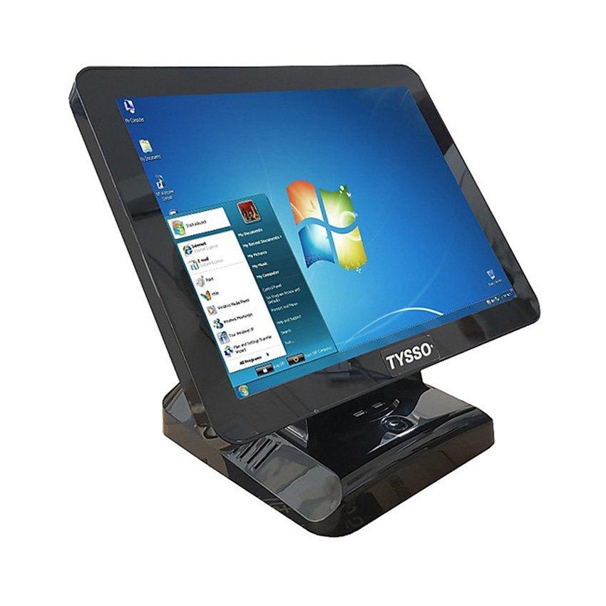 Máy bán hàng POS TYSSO 1400 Celeron J1900/4GB/60GB SSD/15 inch Touch/Windows 7