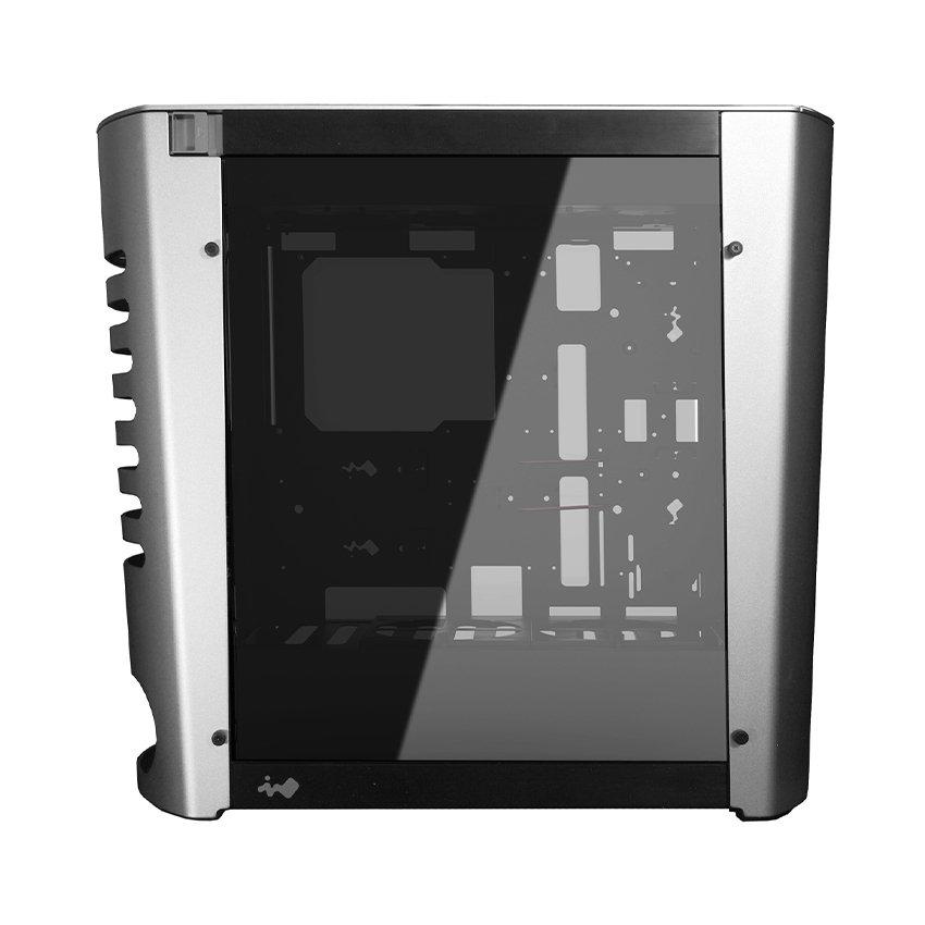 Vỏ Case InWin 915  - Full Aluminium Ultimate Gaming (Mid Tower/Màu Bạc/Led RGB)
