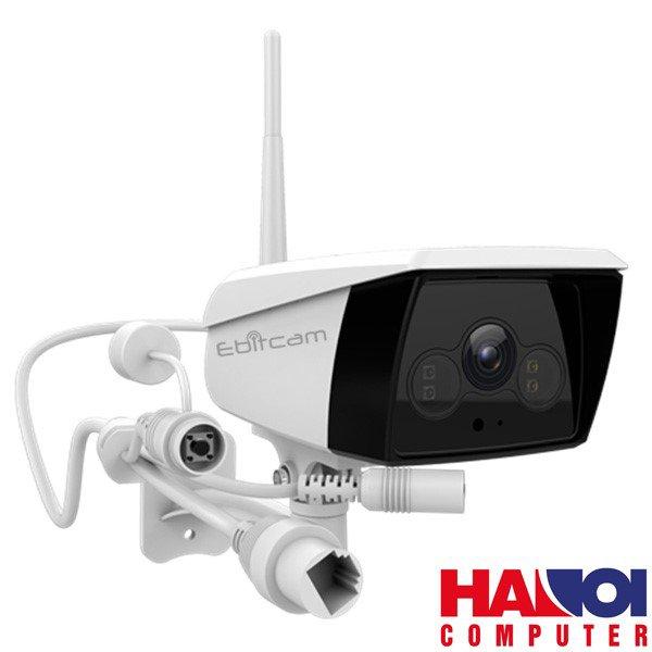 Camera Ebitcam EB02 ( 4.0 MP ) có đèn ánh sáng trắng