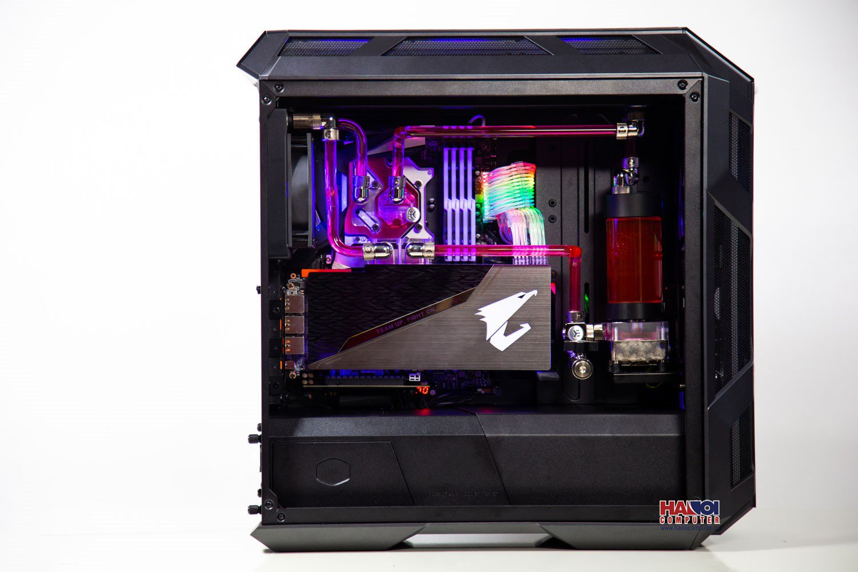 Modding PC CoolerMaster H500M HT-38 SCARLETT RED