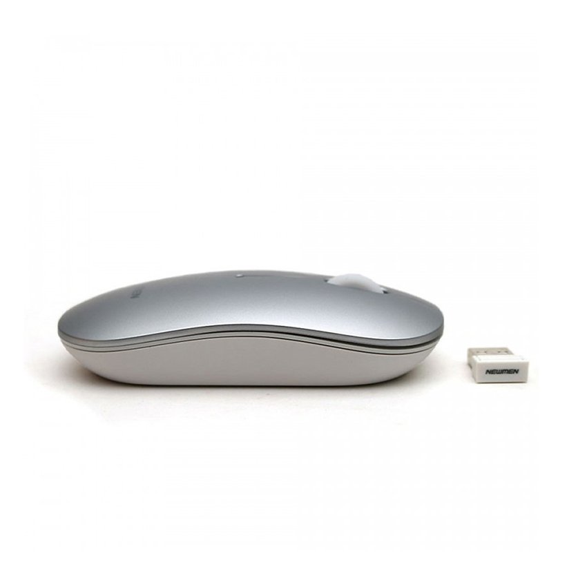 Chuột Không dây Newmen F270 (USB/Màu bạc)