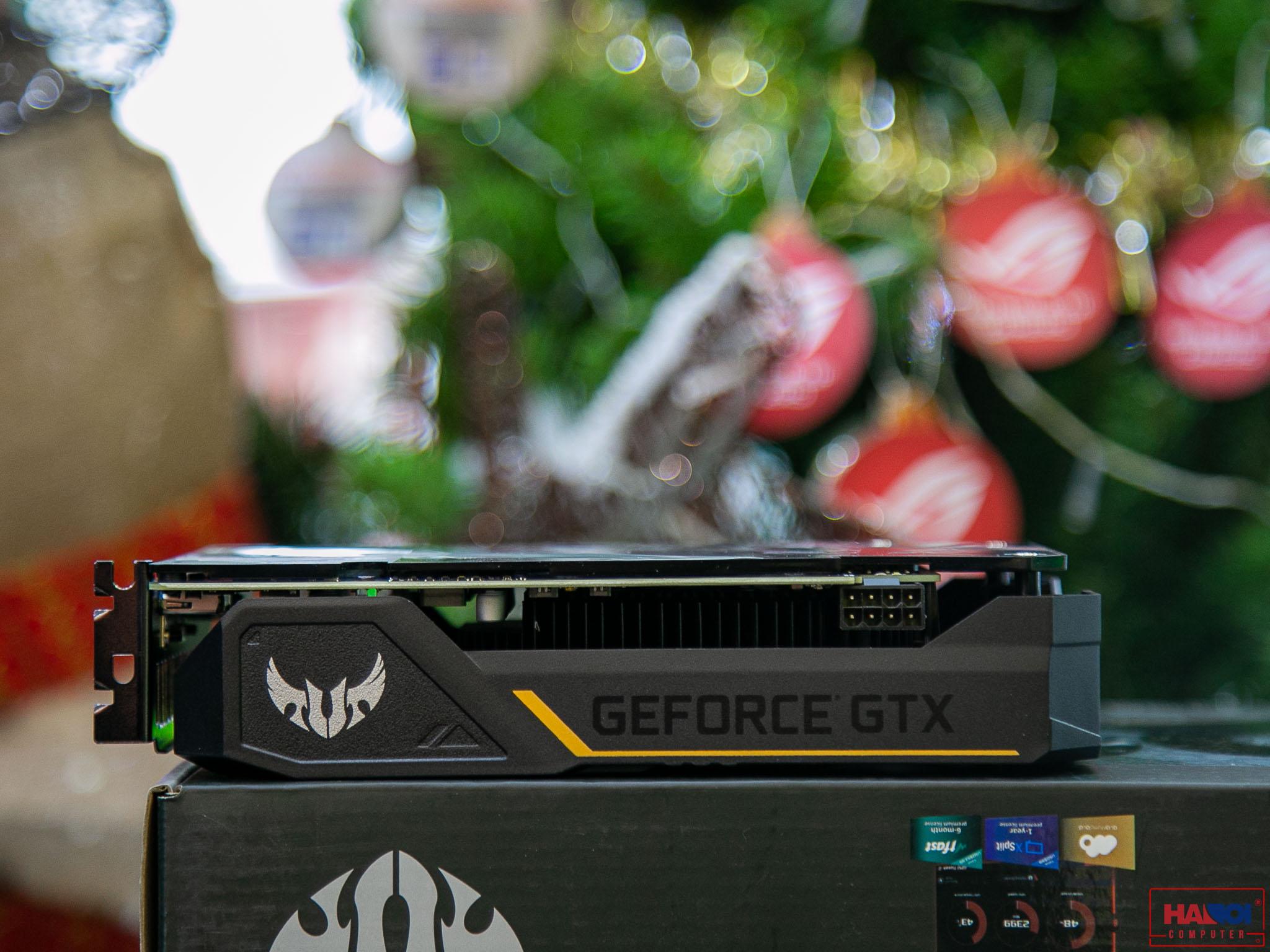 Card màn hình ASUS TUF GTX1660 - O6G GAMING