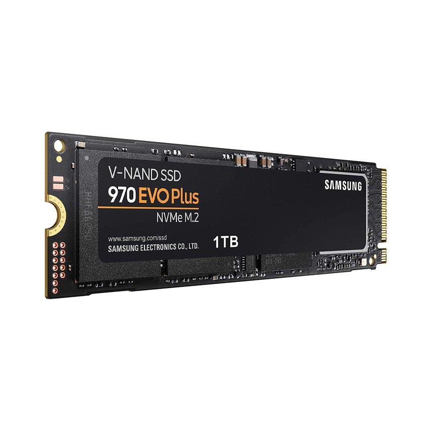 Ổ cứng SSD Samsung 970 EVO Plus 1TB M.2 2280 PCIe NVMe 3x4 (Đọc 3500MB/s - Ghi 3300MB/s) - (MZ-V7S1T0BW)