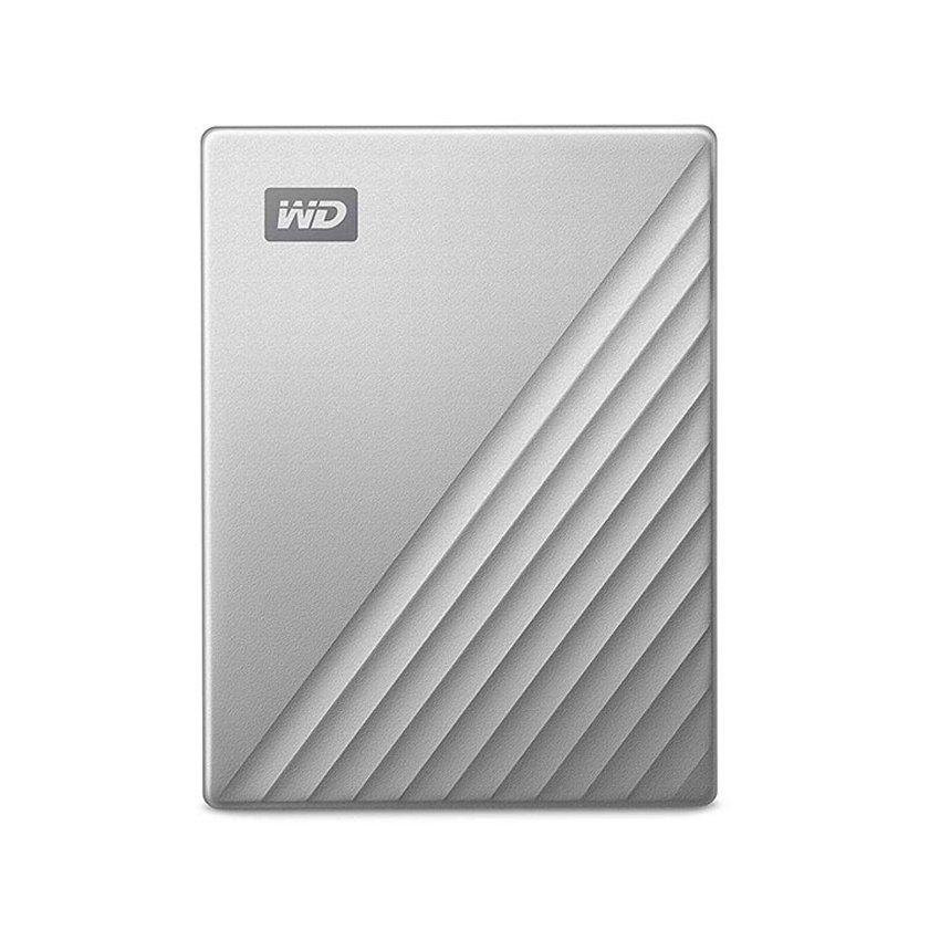 Ổ Cứng Di Động WD My PassPort Ultra Silver 2TB màu bạc 2.5 inch WDBC3C0020BSL-WESN