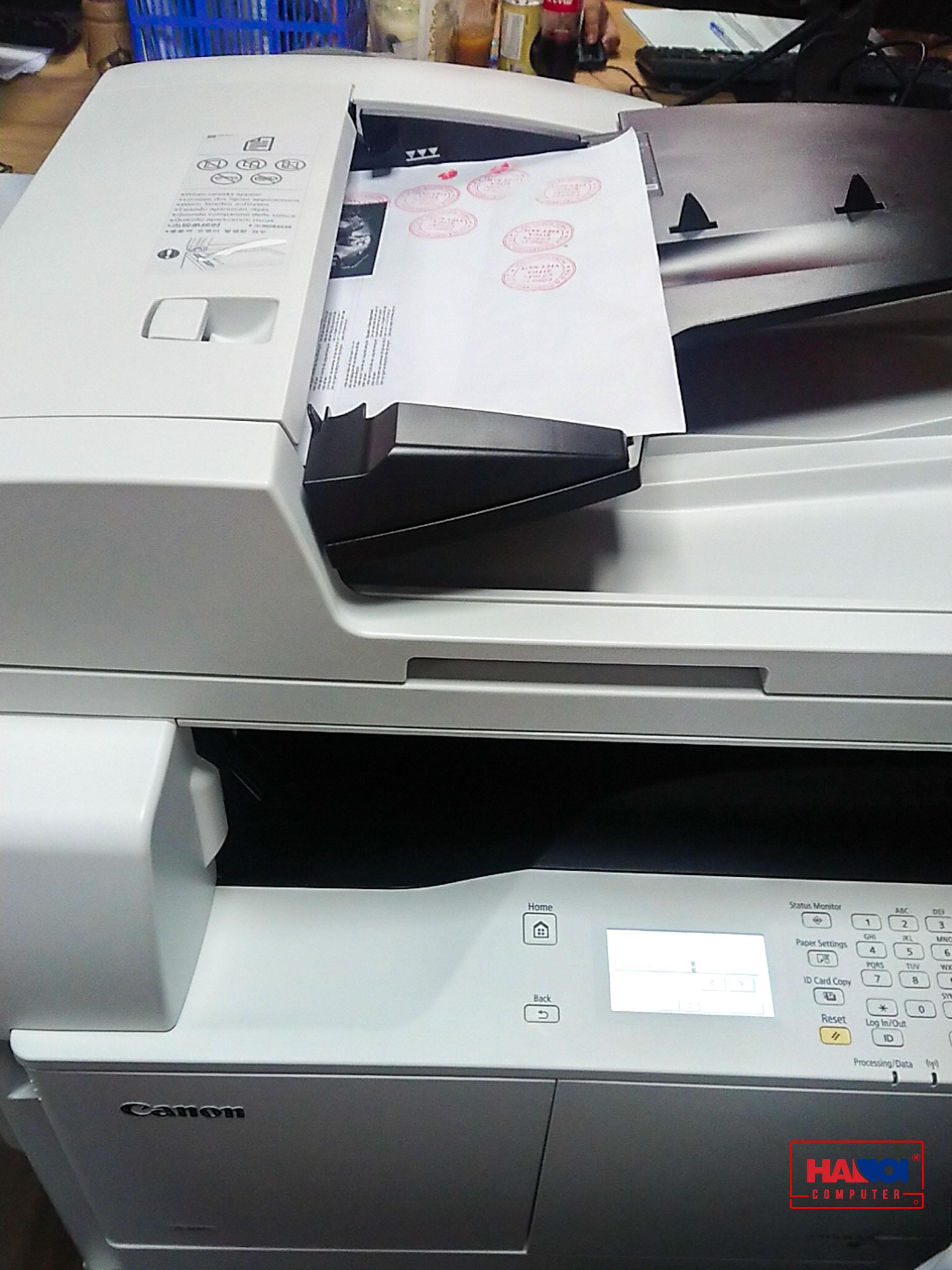 Máy in Canon IR2006N - (A3) (Máy Photocopy - Copy/ In mạng, in Wifi/ Scan)