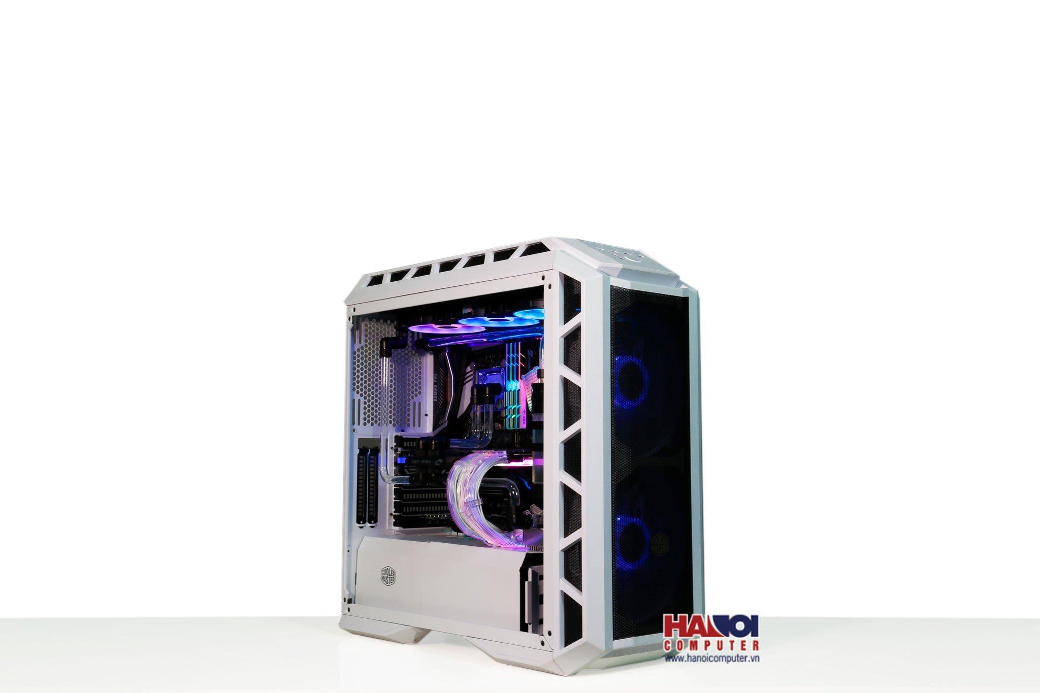 Modding PC CoolerMaster H500P White Mesh HT-43 TRINITY