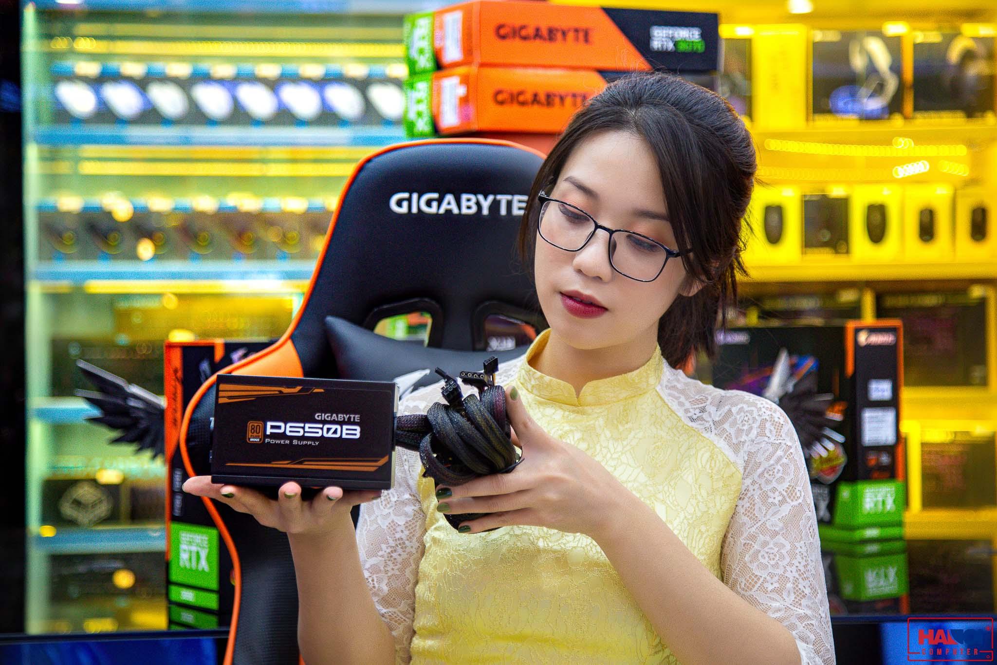 Nguồn Gigabyte GAGP-P650B 650W Active PFC