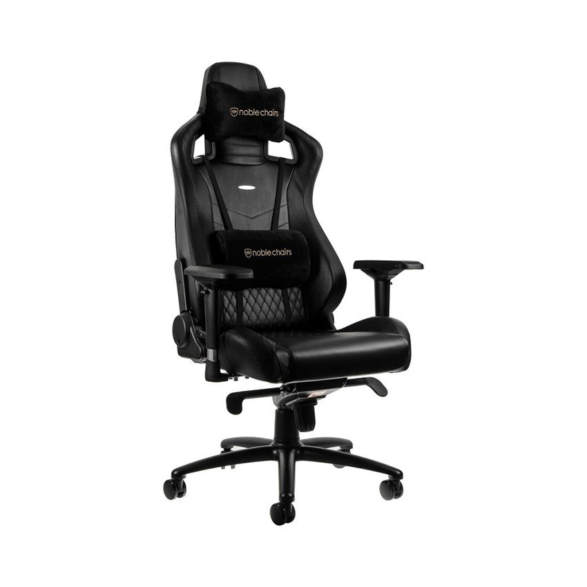 Ghế Gamer Noblechairs EPIC Limited Real Leather Black (Ultimate Chair Germany)