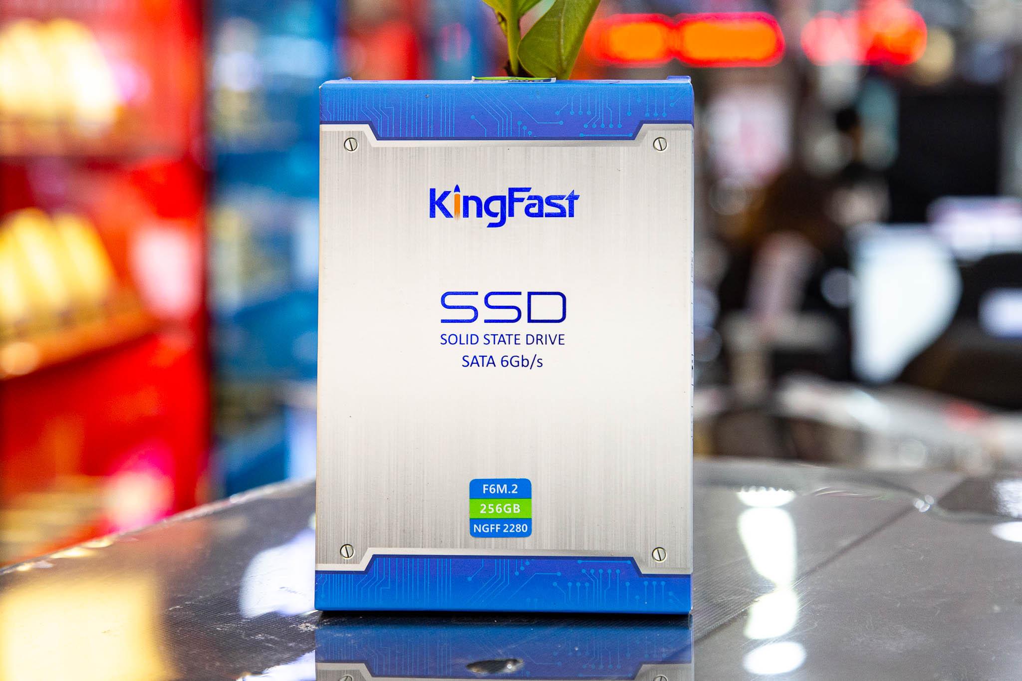 Ổ cứng SSD KINGFAST F6M.2 128GB M.2 2280 (Đọc 550MB/s - Ghi 450MB/s)