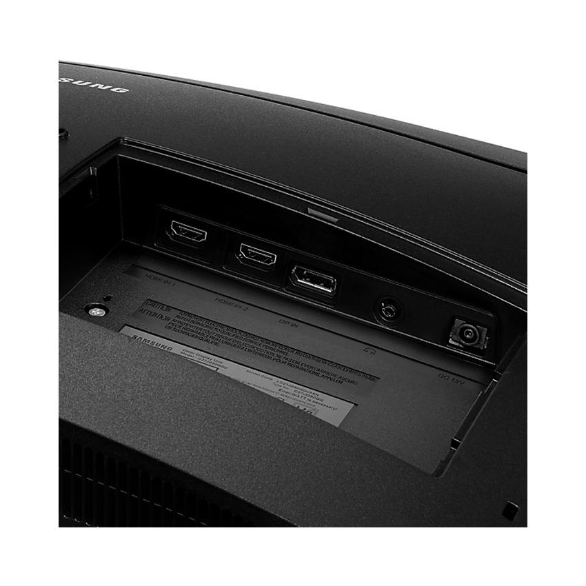 Màn hình Samsung LC24RG50FQEXXV (23.8 inch/FHD/LED/350cd/m²/DP+HDMI/144Hz/1ms/Màn hình cong)