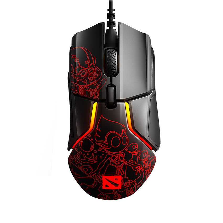 Chuột chơi game SteelSeries Rival 600 - Ti 9 Dota 2 Edition (62448)