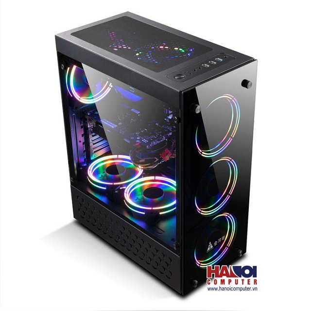 Vỏ Case Golden Field N-17Plus (Mid Tower/Màu Đen)