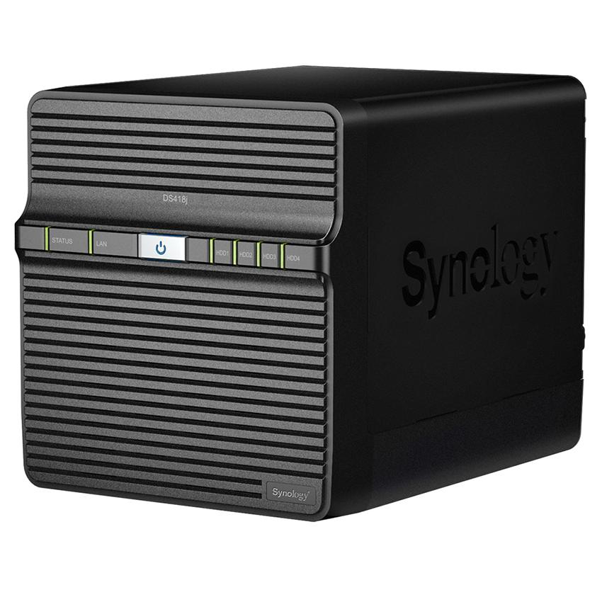 Thiết bị lưu trữ mạng Synology 4 khay DS418J