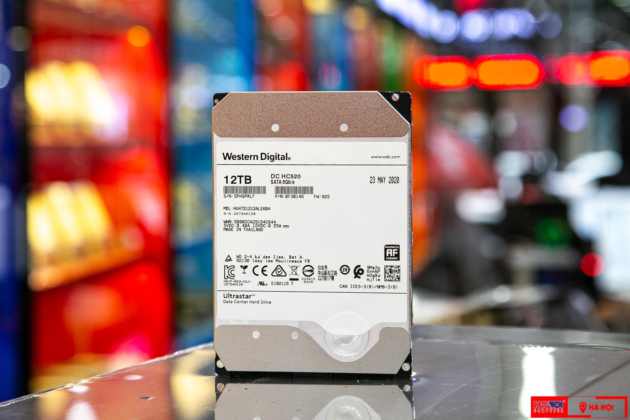 Ổ cứng HDD Western Enterprise Ultrastar DC HC520 12TB