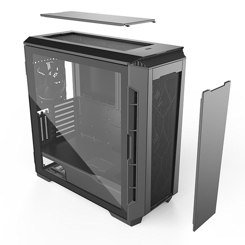 Vỏ Case Phanteks Eclipse P600S   tempered Glass Window (Mid Tower/Màu Đen)  PH-EC600PSTG_BK01