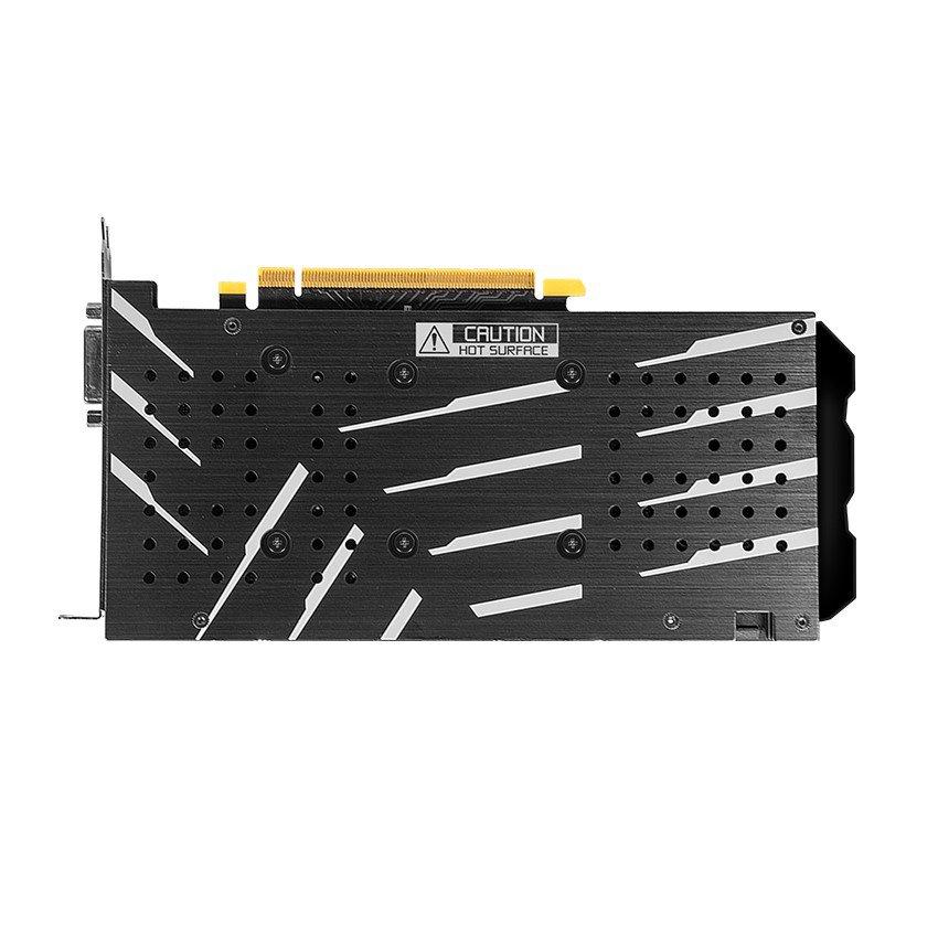 Card màn hình GALAX GTX 1660 (1 Click OC) Black (60SRH7DSY91C) - (6GB GDDR6, 192-bit, DVI+ HDMI+DP, 1x6-pin)