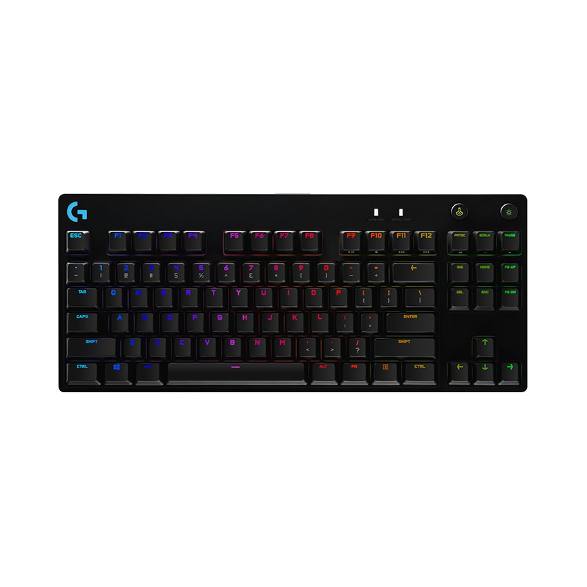 Bàn phím cơ Logitech Pro X RGB Lightsync