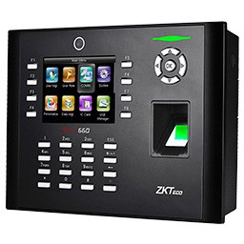 Máy chấm công vân tay và thẻ ZKTeco Iclock 660