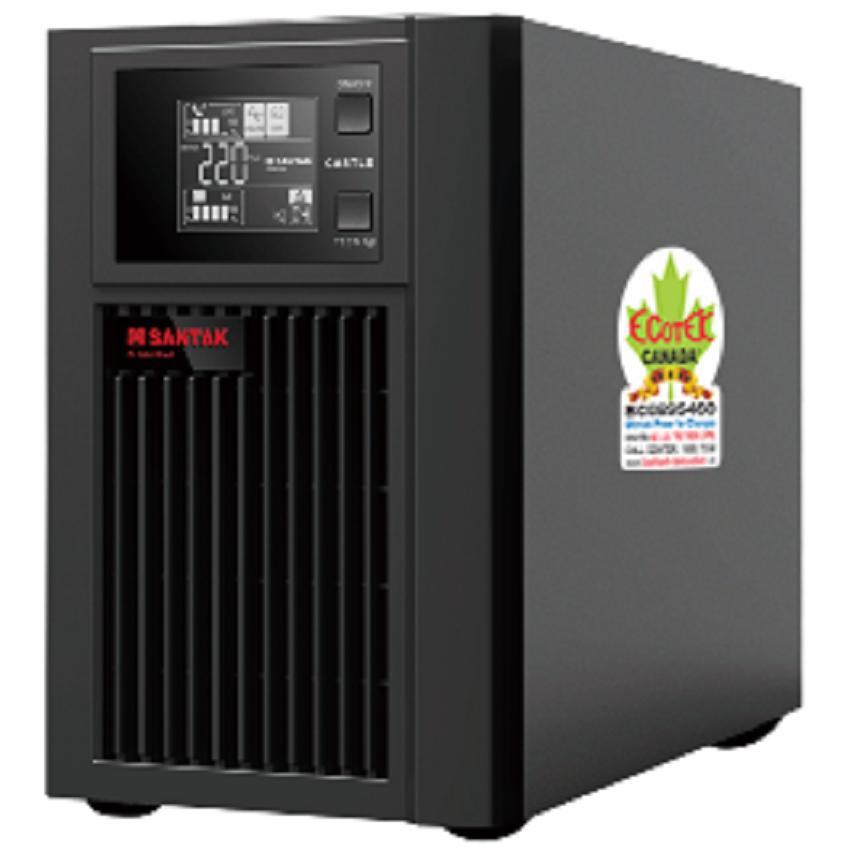 Bộ lưu điện UPS Santak C1K LCD (1 KVA / 0.9 KW)