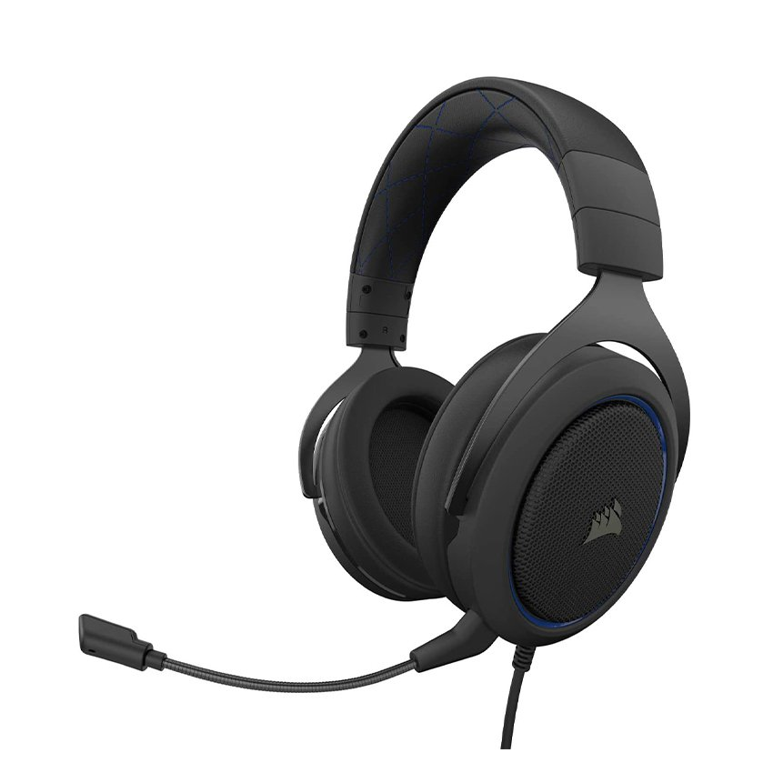 Tai nghe Gaming Corsair HS50 PRO Stereo Blue