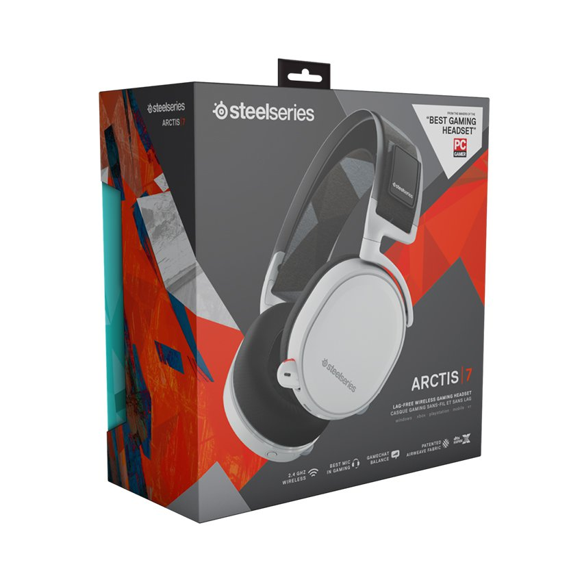 Tai nghe SteelSeries Arctis 7 Edition White 61508