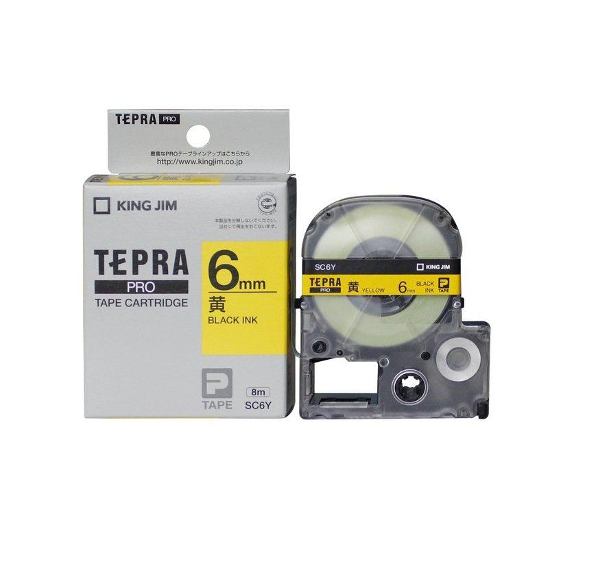 Băng mực Tepra 6mm