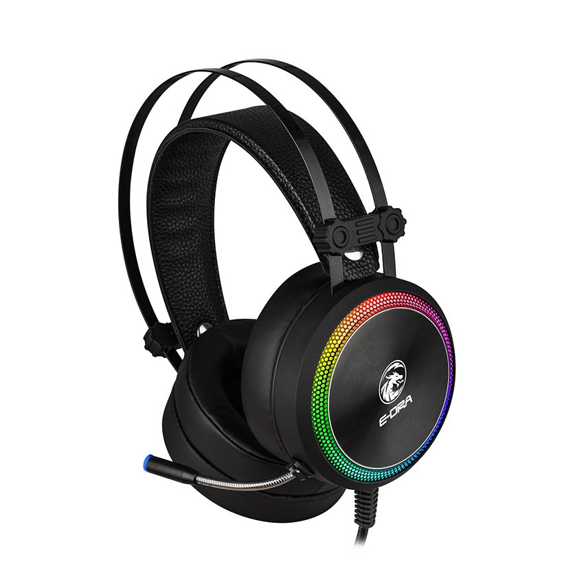 Tai nghe E-Dra EH412 Pro 7.1 Led RGB USB   HANOICOMPUTER