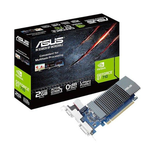 Card màn hình ASUS GT710-SL-2GD5 , gaming phổ thông