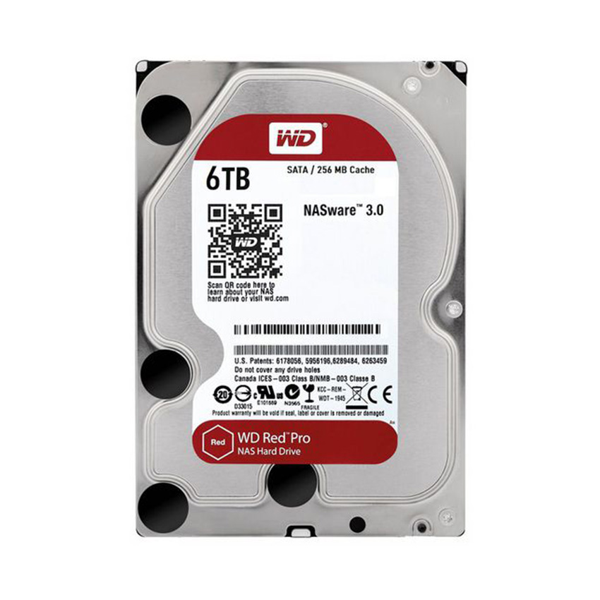 Ổ cứng HDD WD Red Pro 6TB
