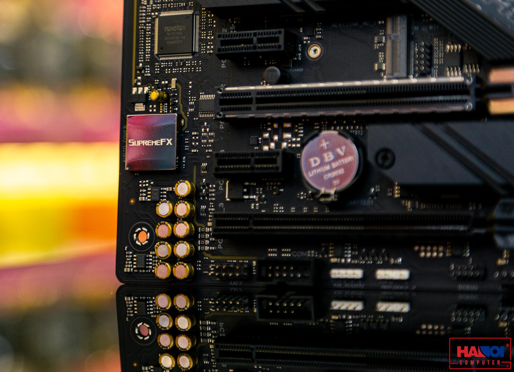 Mainboard ASUS ROG STRIX Z490-F GAMING (Intel Z490, Socket 1200, ATX, 4 khe RAM DDR4)
