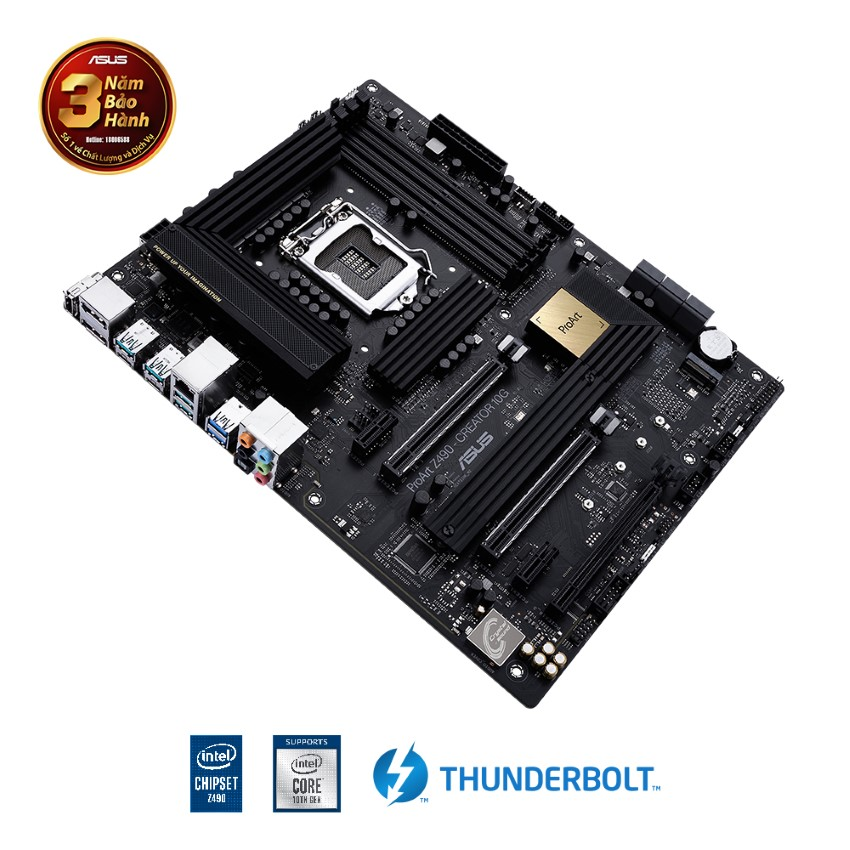 Mainboard ASUS ProArt Z490-CREATOR 10G (Intel Z490, Socket 1200, ATX, 4 khe RAM DDR4)
