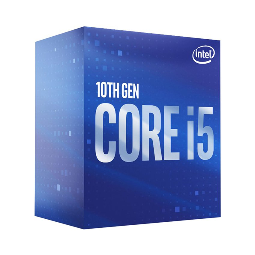 CPU Intel Core i5-10400 (2.9GHz turbo up to 4.3GHz, 6 nhân 12 luồng, 12MB Cache, 65W) - Socket Intel LGA 1200