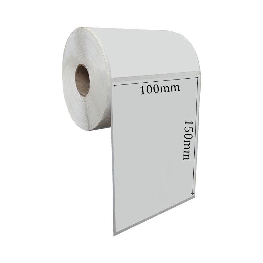 Giấy decal nhiệt 100x150x50m ( 1 tem 1 hàng ) - Tem Shopee