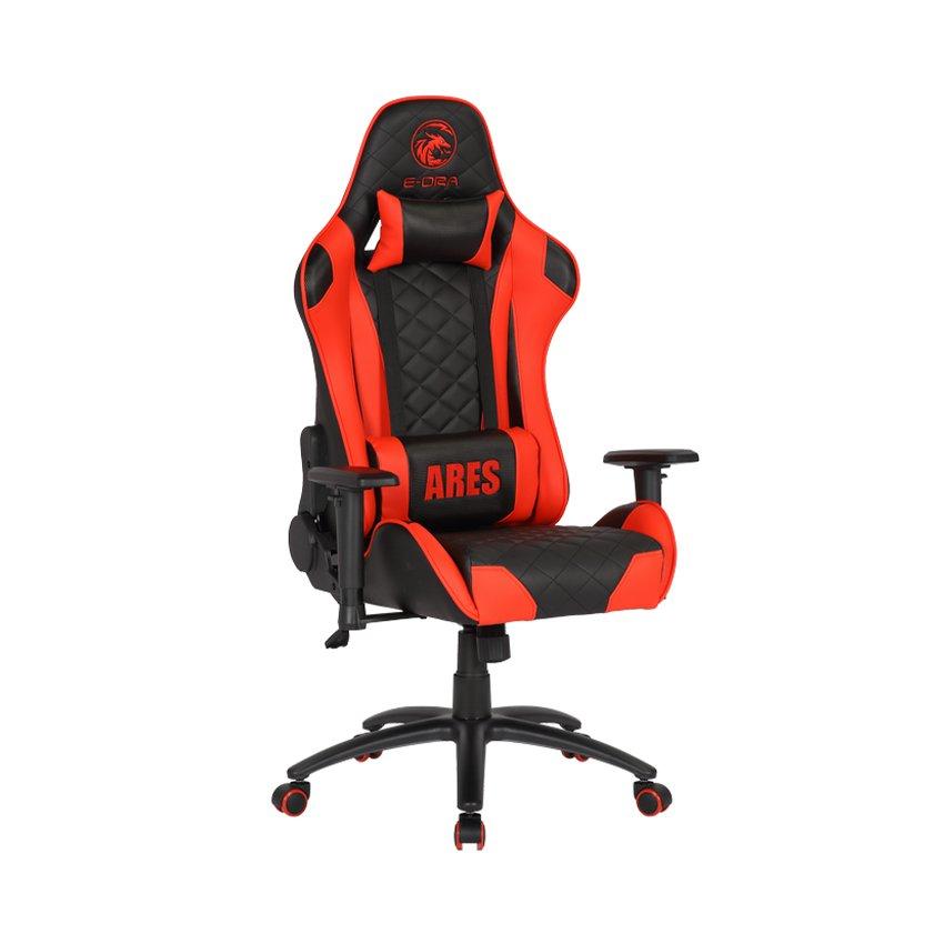 Ghế Gaming Ares EGC207 Màu Đen/Đỏ - E-Dra trang bị chân ghế chắc chắn