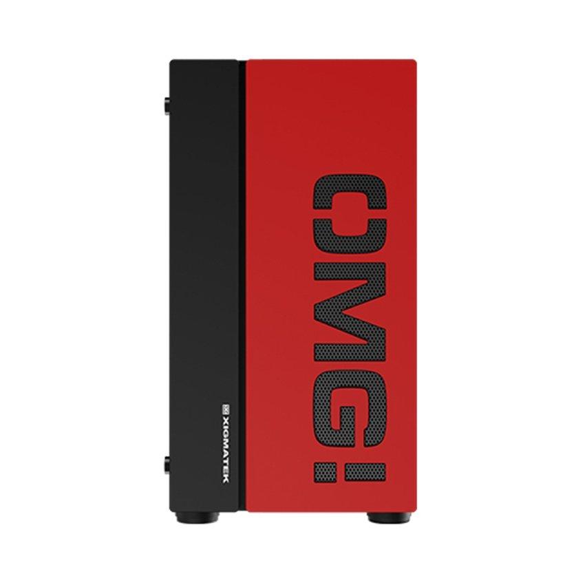 Vỏ Case Xigmatek OMG (Mini-Tower/Màu Đen,Đỏ) EN45244