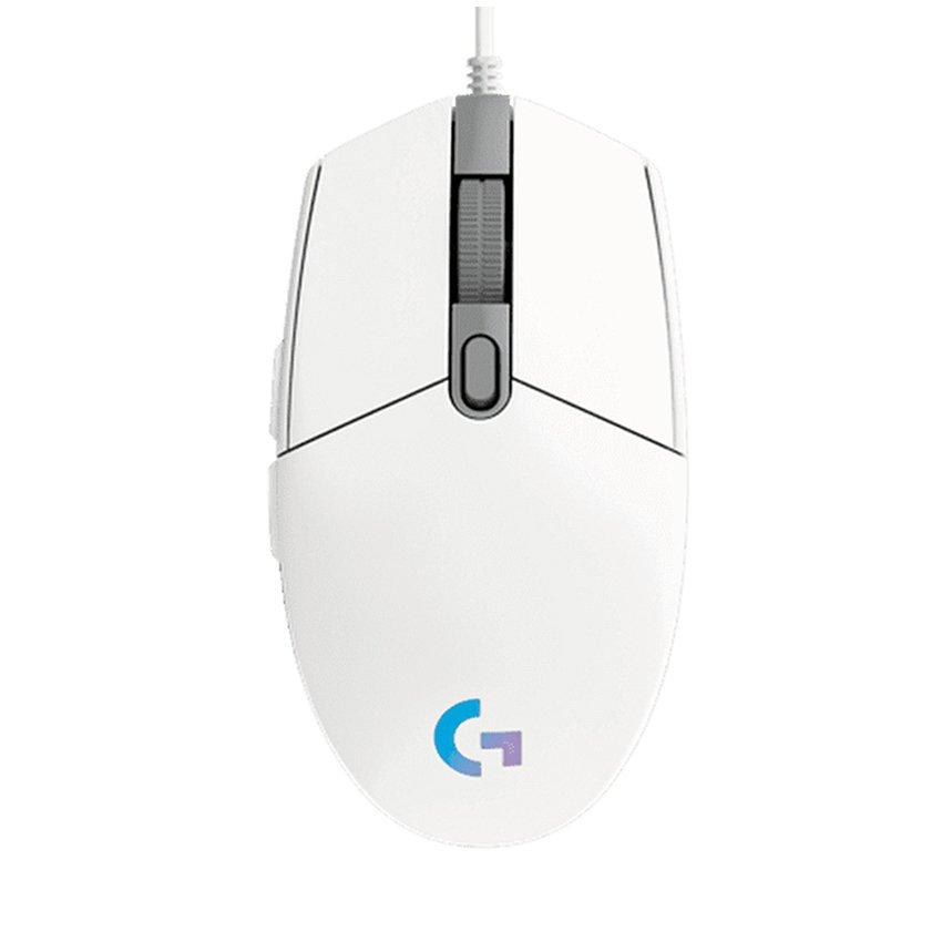 Chuột chơi game Logitech G102 Gen2 Lightsync White (USB/RGB/Trắng)