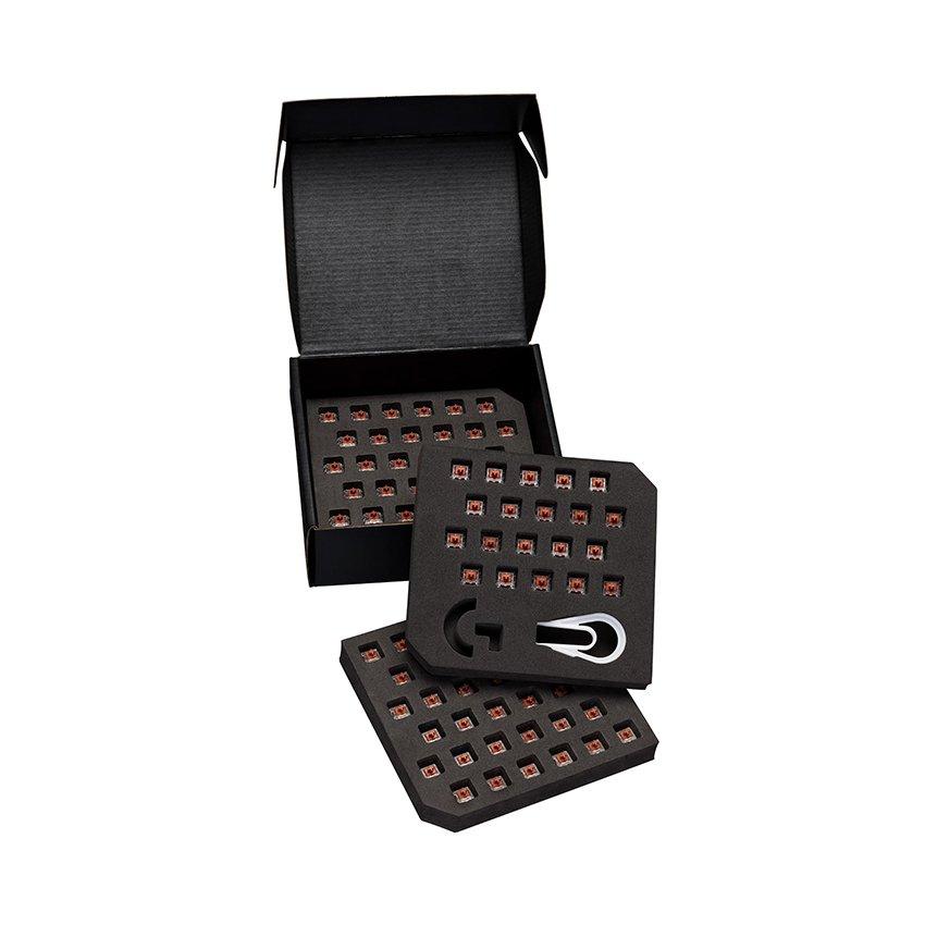 Bộ switch cho G Pro X Keyboard - GX Brown Tactile RGB switch (943-000326)
