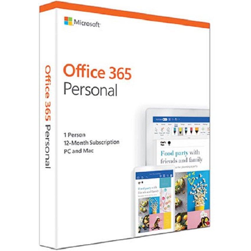 Phần mềm Microsoft 365 Personal English APAC EM Subscr 1YR Medialess P6 (QQ2-00983)