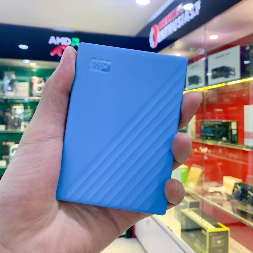 Ổ Cứng Di Động 1TB 2.5 inch WD My Passport USB 3.2 Xanh - WDBYVG0010BBL-WESN