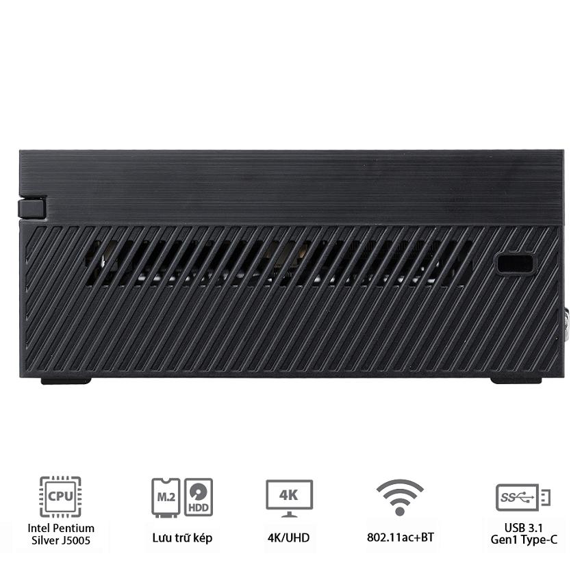 PC Asus PN40-MKM1PE (Intel Pentium Silver J5005/Barebone) (90MS0181-M03260)