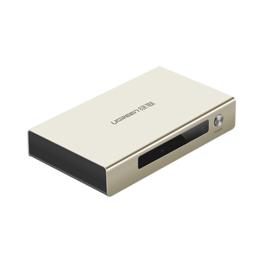 Bộ chia HDMI Ugreen 40276  1 ra 2 cổng (Hỗ trợ 4Kx2K full HD 1080P)