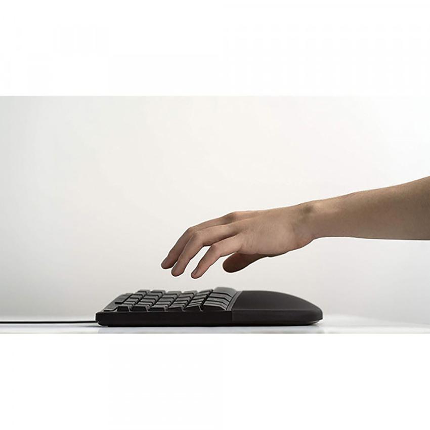 Bàn phím Microsoft Ergonomic (màu đen) (LXM-00015)