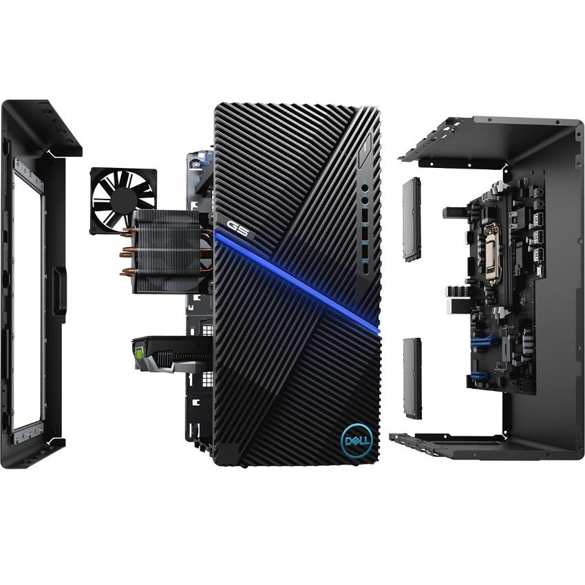 PC Dell G5 5000 (i5-10400F/16GB RAM/256GB SSD+1TB HDD/GTX1660S/WL+BT/K+M/Win 10) (70226491)