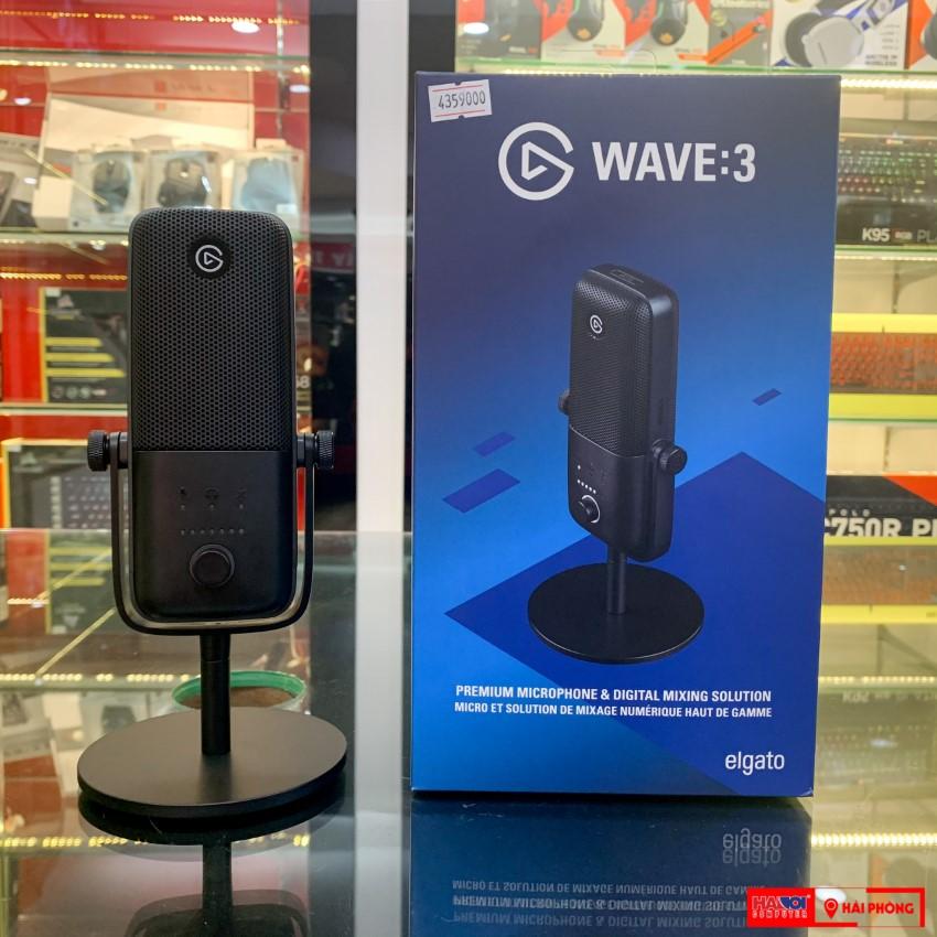 Microphone Elgato Wave 3